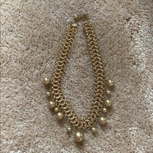 Gold and Pearl Choker